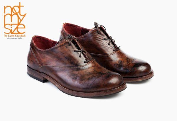 Ботинки Oxford Base коричневые
