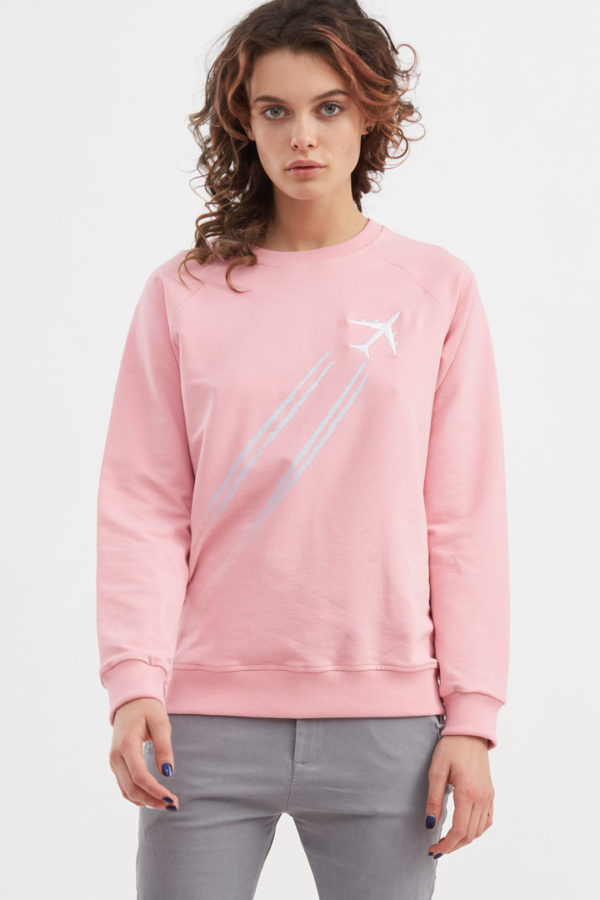 Свитшот Sky Pink