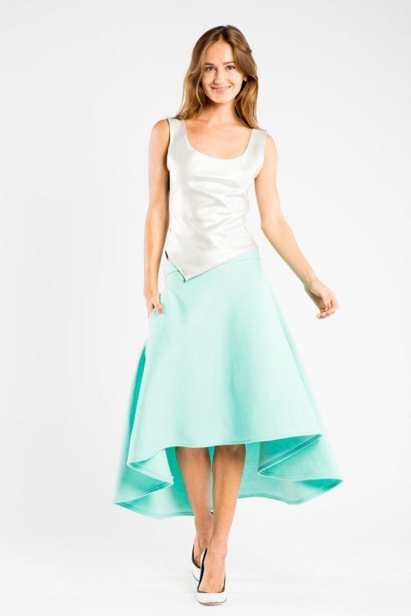 Утепленная юбка