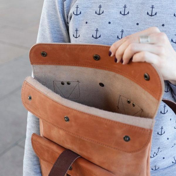 Рюкзак BananaPack mini- Песочный крейзи-хорс