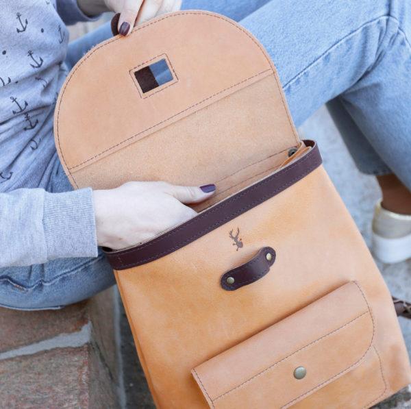 Рюкзак Backpack mini - Мокрый песок