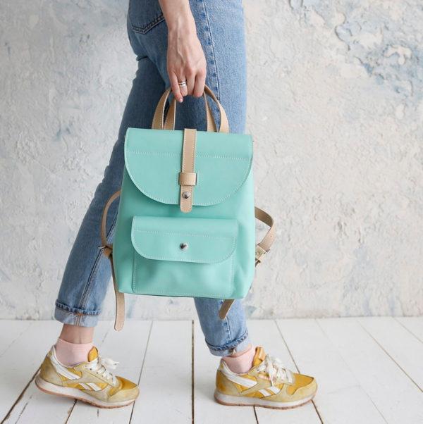 Рюкзак Backpack mini - Мята