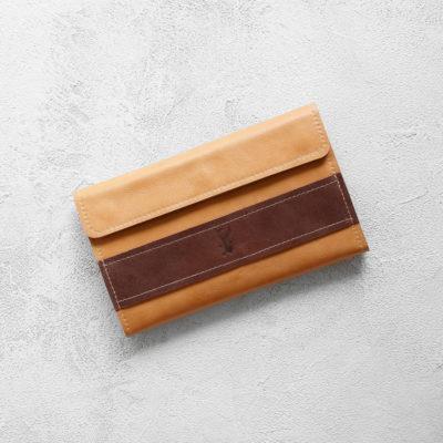 Портмоне BigWallet - Песок + шоколад