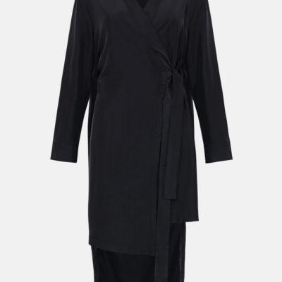 Жакет кимоно черный