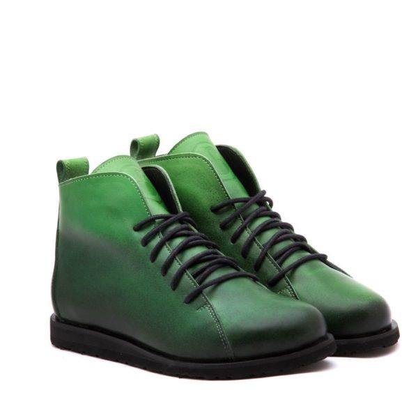 Ботинки High Shoes gradient-green