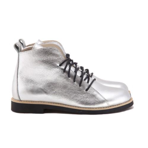 Ботинки High Shoes Silver