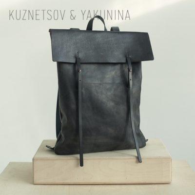Рюкзак большой черный