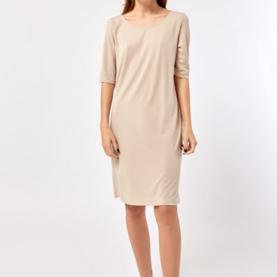 Платье-футболка светлое