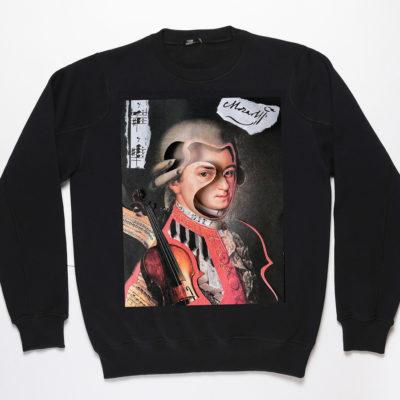 Свитшот унисекс с Моцартом