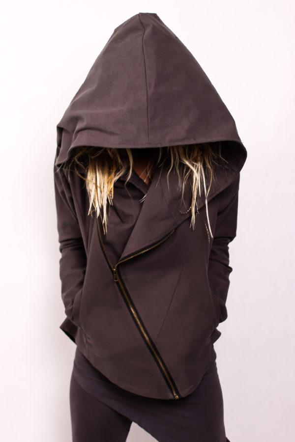 Куртка из плотного хлопка