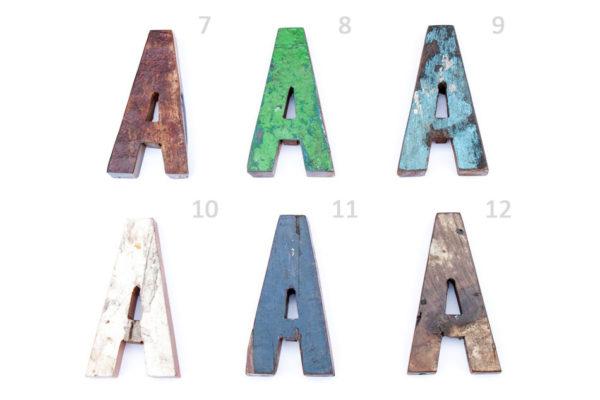 Буквы деревянные