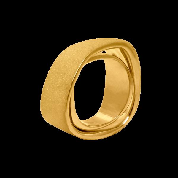 """Кольцо """"Дубль"""""""