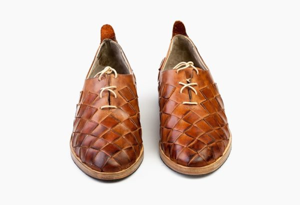 Туфли Wicker кожаные коричневые
