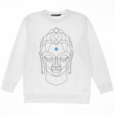 Свитшот Будда White