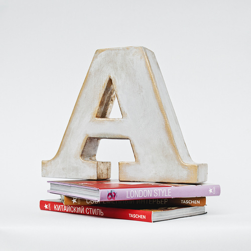 Буквы для декора Alphabet