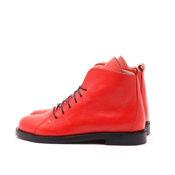 Ботинки High Shoes Red