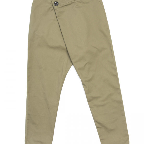 Дизайнерские брюки Zubon Хаки