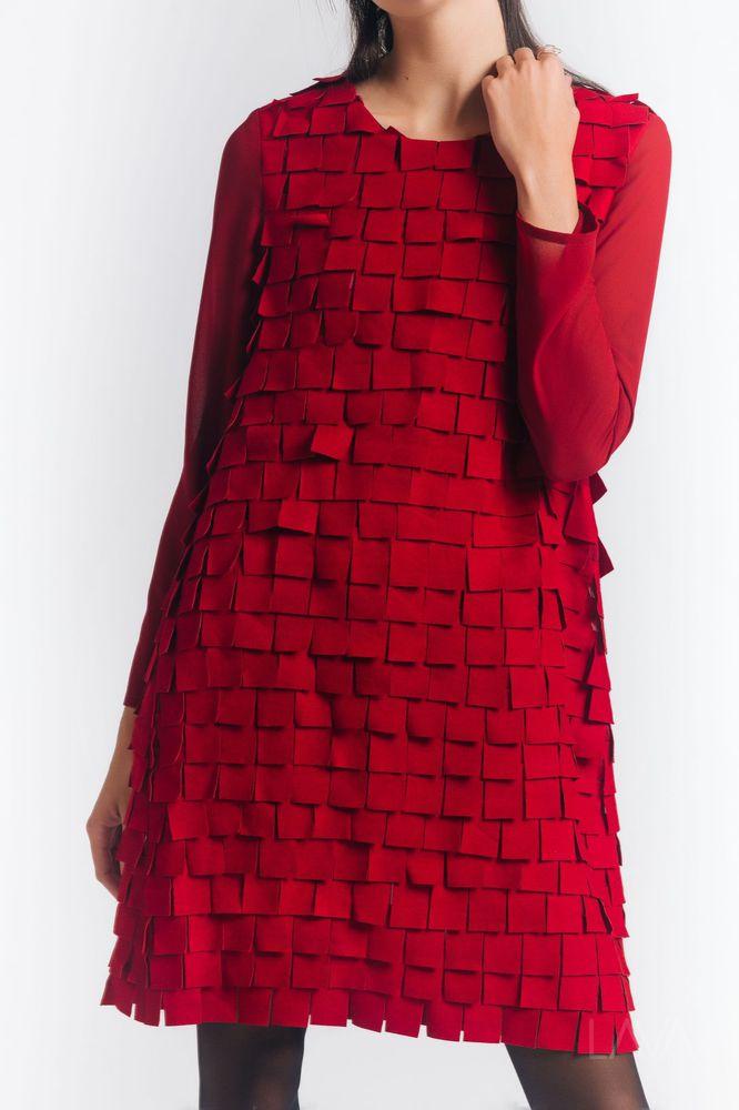 896488cc883 Дизайнерское красное платье купить в Москве с доставкой – 4designers.ru