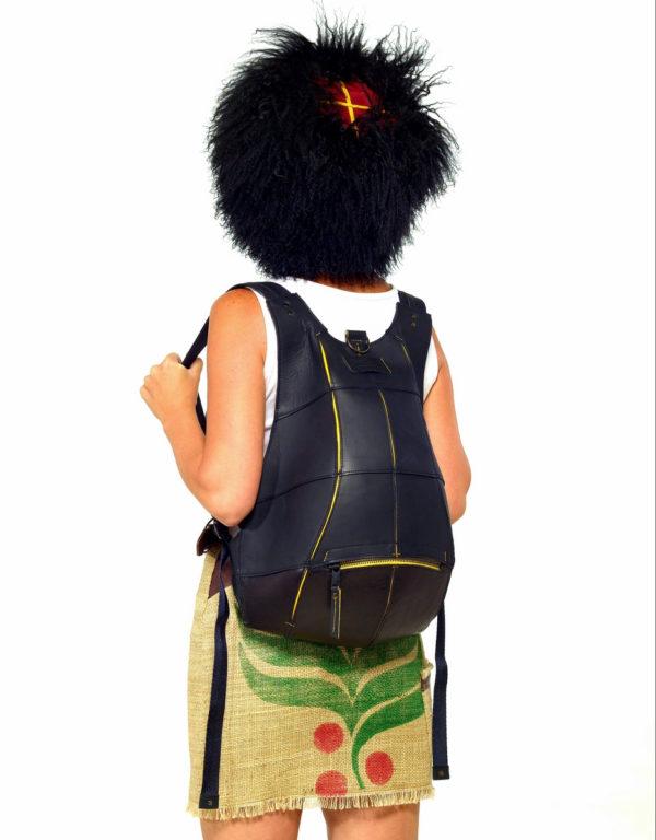 Кожаный рюкзак TurtleBack
