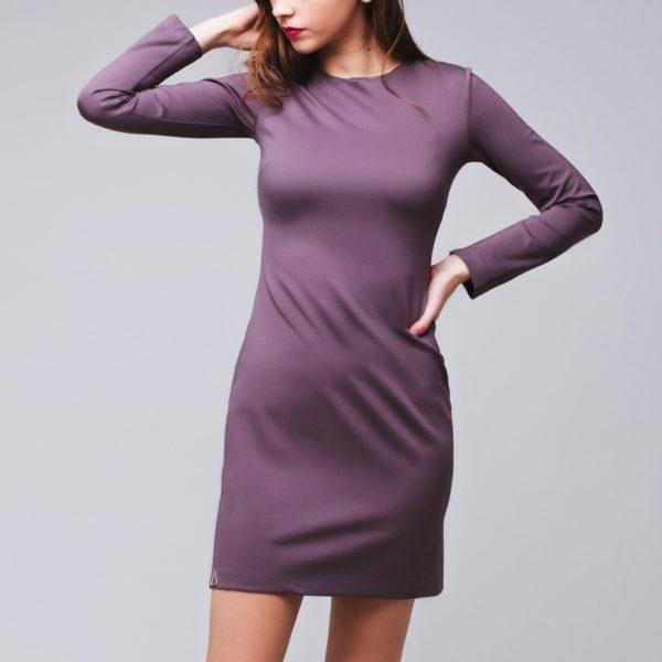 Базовое платье Taupe (Кофе)