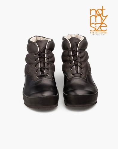 Ботинки Puffy black