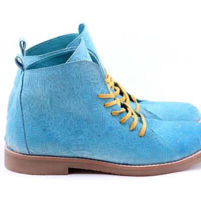 Ботинки High Shoes Totem Blue