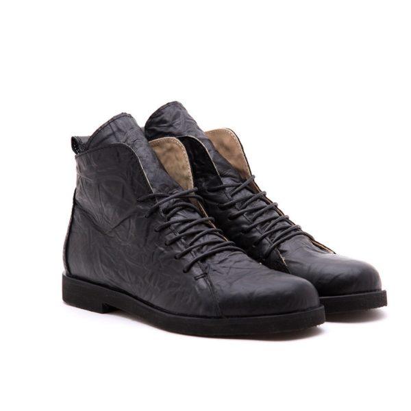 Ботинки High Shoes Crampled Black