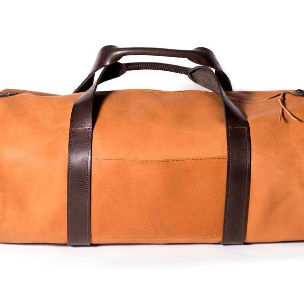 Дорожная сумка рыжая