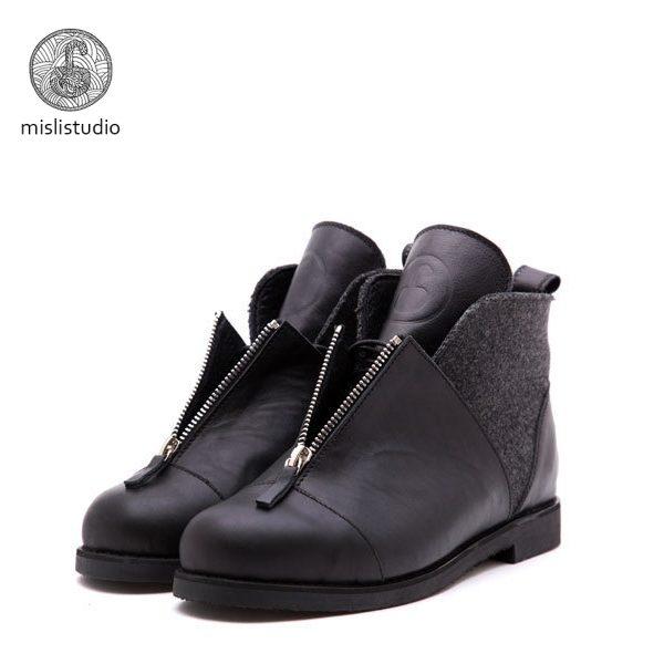 Babochki Shoes Gloss c войлочными вставками