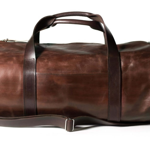 Дорожная сумка коричневая