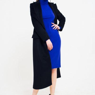 Пальто классическое черного цвета