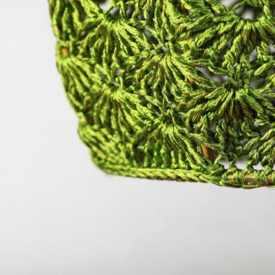 Светильник Тюльпан Большой зеленый