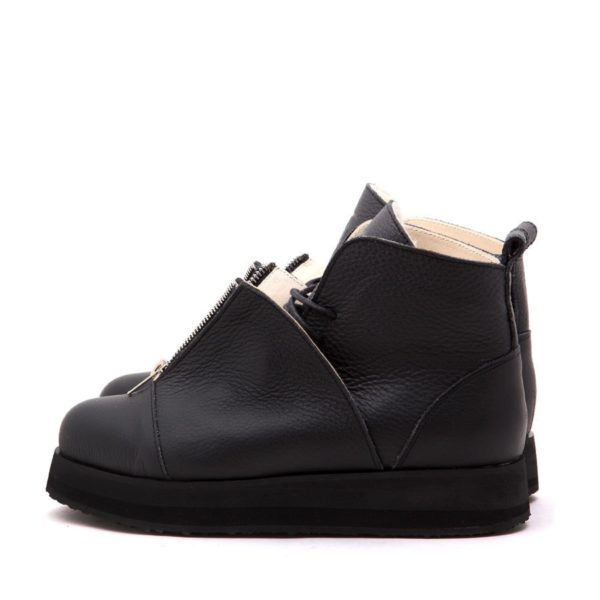 Ботинки Babochki Shoes Black Matt