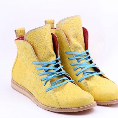 Ботинки High Shoes Totem Yellow