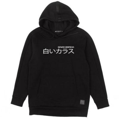 Худи Garū Shiroi Karasu Black