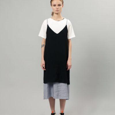 Двустороннее платье-комбинация Ryouji