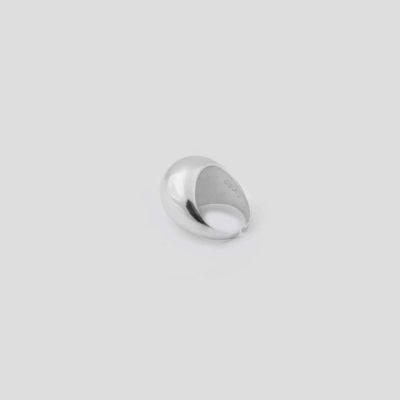 Кольцо объемное Basic (серебро 925-й пробы, покрыто золотом)