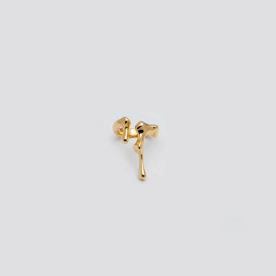 Незамкнутое кольцо (серебро 925-й пробы, покрыто золотом)