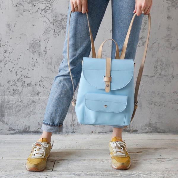 Рюкзак Backpack mini - Голубой