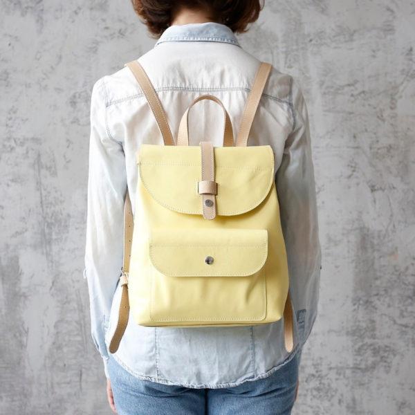 Рюкзак Backpack mini - Лимонный