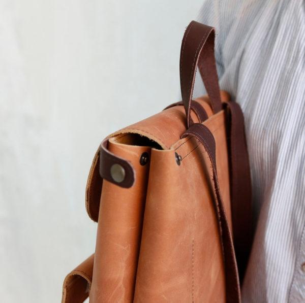Рюкзак Backpack mini - Песочный воск