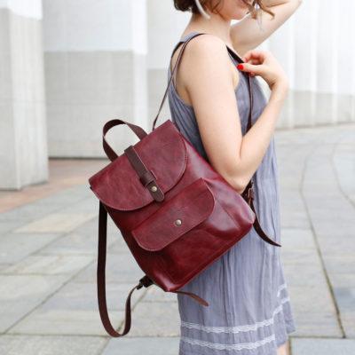 Рюкзак Backpack mini - Спелая вишня