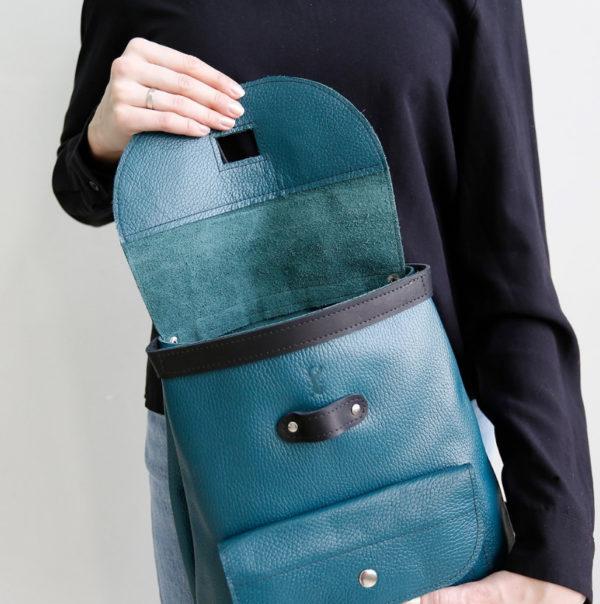 Рюкзак Backpack mini - Морская волна