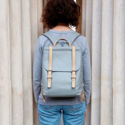 Рюкзак Classic - светло-серый + беж