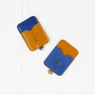 Картхолдер CardHolder - Жёлто-синий
