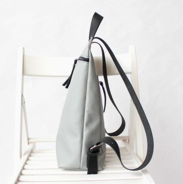 Рюкзак SimplePack - Светло-серый и чёрный