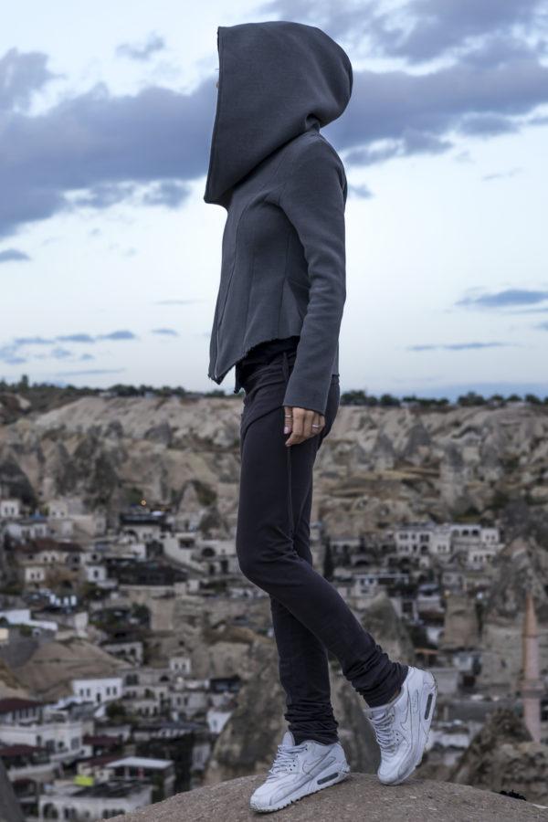 Толстовка-куртка из шерсти