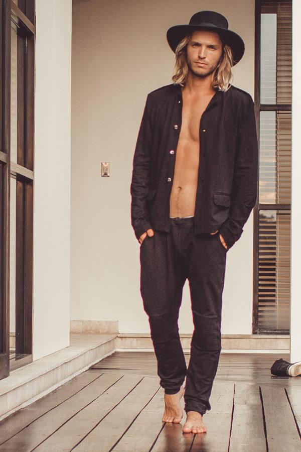 Мужские штаны с мотней