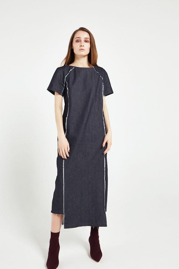Платье из денима