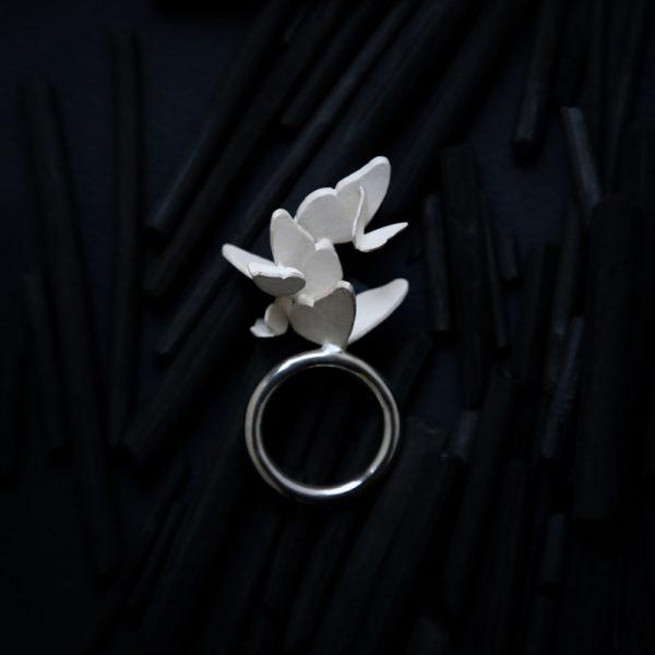 """Кольцо """"Бабочки"""""""